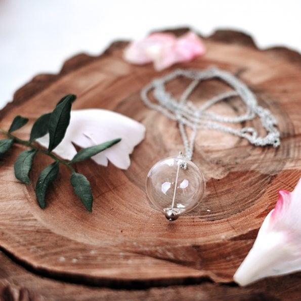 Skleněný náhrdelník Crystal Clear long