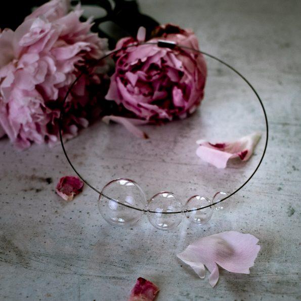 Skleněný náhrdelník Crystal vol 3