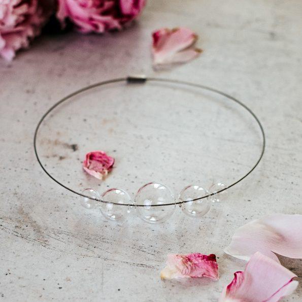 Skleněný náhrdelník Crystal vol 6