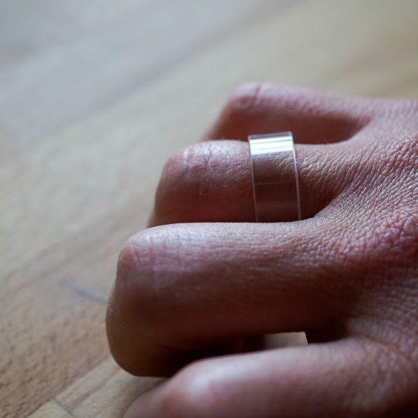 Skleněný prstýnek Pure Love